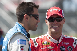 Kevin Harvick and Aric Almirola