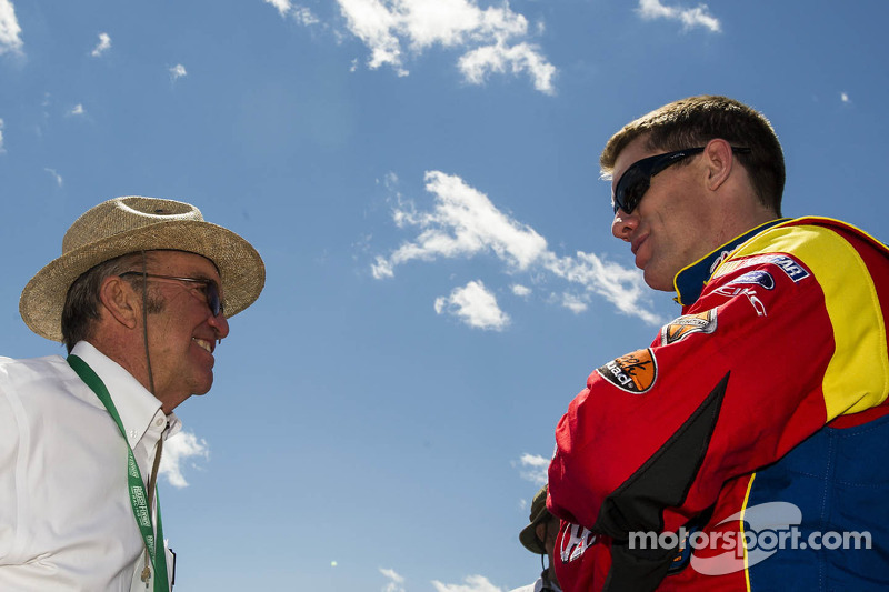 Carl Edwards en Jack Roush
