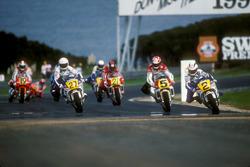 Wayne Gardner, Honda leads