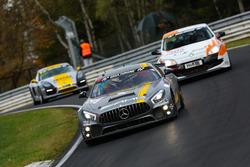 Stefan Karg, Aurel Schöller, Adam Christodoulou, AMG - Team Black Falcon, Mercedes Benz AMG GT4