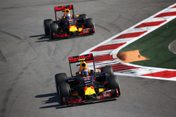 Данііл Квят, Red Bull Racing RB12, Даніель Ріккардо, Red Bull Racing RB12