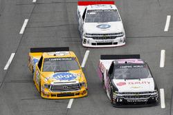 Justin Haley, GMS Racing Chevrolet, Todd Gilliland, Kyle Busch Motorsports Toyota, Patrick Emerling, Chevrolet