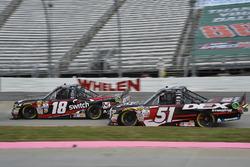 Noah Gragson, Kyle Busch Motorsports Toyota, Harrison Burton, Kyle Busch Motorsports Toyota