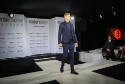 Sergey Sirotkin, Test Driver Renault Sport F1 Team all'Amber Lounge Fasion Show