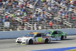 Chase Elliott, Hendrick Motorsports Chevrolet, Jeffrey Earnhardt, Circle Sport – The Motorsports Group Chevrolet