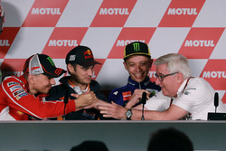 Jorge Lorenzo, Ducati Team, Dani Pedrosa, Repsol Honda Team,Valentino Rossi, Yamaha Factory Racing, Nick Harris