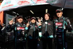 Polesitters GT300 Nobuteru Taniguchi, Tatsuya Kataoka, Goodsmile Racing & Team Ukyo