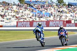 Andrea Iannone, Team Suzuki MotoGP, Maverick Viñales, Yamaha Factory Racing