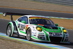 #33 D'station Racing Porsche 911 GT3-R: Tomonobu Fujii, Sven Muller