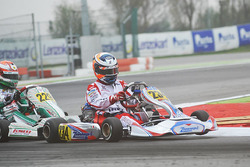 Lorenzo Travisanutto, Zanardi; Nicklas Nielsen, Tony Kart