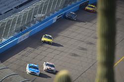 Ryan Blaney, Wood Brothers Racing Ford, Clint Bowyer, Stewart-Haas Racing Ford, Daniel Suarez, Joe Gibbs Racing Toyota