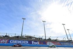 Denny Hamlin, Joe Gibbs Racing Toyota and Jeffrey Earnhardt, Circle Sport – The Motorsports Group Chevrolet