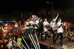 Marc Márquez celebra su campeonato