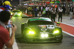 LMGTE AM winners #98 Aston Martin Racing Aston Martin Vantage: Paul Dalla Lana, Pedro Lamy, Mathias Lauda