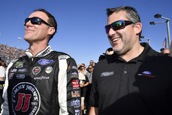 Kevin Harvick, Stewart-Haas Racing Ford, Tony Stewart