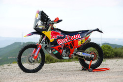 La moto de Matthias Walkner, Red Bull KTM Factory Team