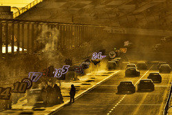 Jimmie Johnson, Hendrick Motorsports Chevrolet, pit stop