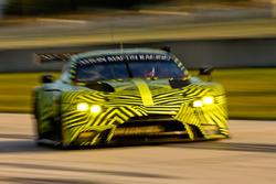 Тесты Aston Martin Racing в Себринге
