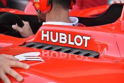 Ferrari SF70H, koeling detail