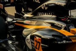 De wagen van Nico Hülkenberg, Renault Sport F1 Team RS17