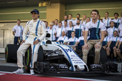 Felipe Massa, Williams and Paul di Resta, Williams at the Williams team photo