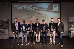 Marc Bongers, Sébastien Le Grelle, Markus Reiterberger, Jordan Szoke, Uwe Geyer, BMW Motorrad Race Trophy 2017