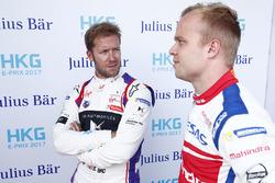 Sam Bird, DS Virgin Racing, ganador de la pole Felix Rosenqvist, Mahindra Racing