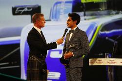David Coulthard speaks to Enaam Ahmed