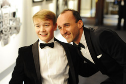 Robert Kubica se encuentra con Billy Monger