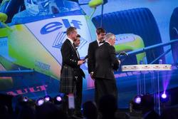 Derek Warwick on stage