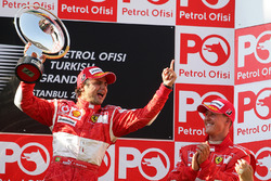 Podium: winner Felipe Massa, Ferrari, third place Michael Schumacher