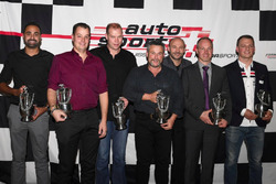 Die Schweizer Meister 2017 wurden bei der Verleihung von Auto Sport Schweiz geehrt