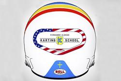 Helm Fernando Alonso Daytona