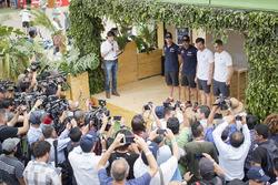 Nasser Al-Attiyah, Matthieu Baumel, Toyota Gazoo Racing, Andre Villas-Boas, Ruben Faria