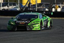 #19 GRT Grasser Racing Team Lamborghini Huracan GT3: Ezequiel Perez Companc, Christian Engelhart, Christopher Lenz, Louis Machiels