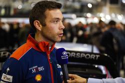 Hayden Paddon, pilota Hyundai WRC