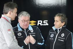 Alejandro Agag, PDG Formula E, avec Alain Prost, cofondateur, Renault e.Dams