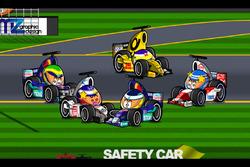 La 'masacre' del GP de Australia 2002 de F1 por 'MiniDrivers'