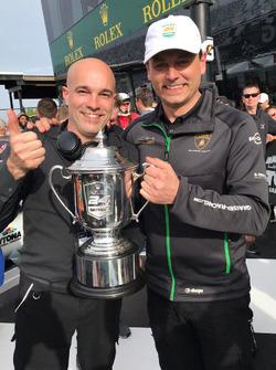 Armando Donazzan, Orange1 Racing, and Gottfried Grasser, GRT Grasser Racing Team