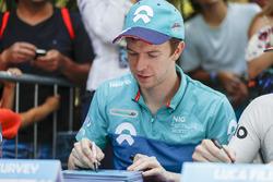 Oliver Turvey, NIO Formula E Team at the autograph session