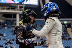 David Coulthard and Petter Solberg