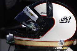 Le casque d'Ed Carpenter, Ed Carpenter Racing Chevrolet