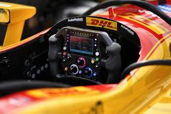 Ryan Hunter-Reay, Andretti Autosport Honda Cosworth steering wheel