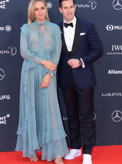 Carmen Jorda ve Christoph Grainger-Herr, CEO of IWC Schaffhausen