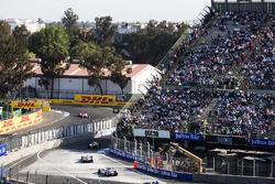Эдоардо Мортара и Маро Энгель, Venturi Formula E Team, Феликс Розенквист, Mahindra Racing