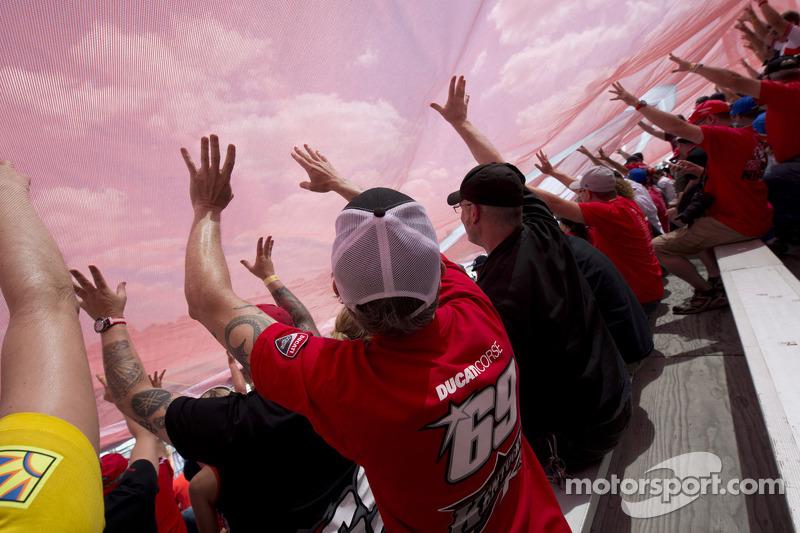 Área de fans Ducati