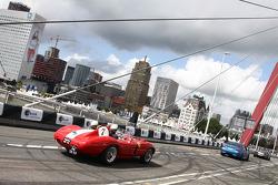 Race car parade
