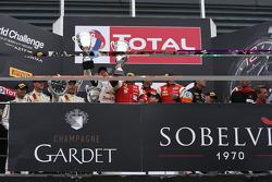 Gentlemen Trophy podium: Winnaars Jean-Luc Blanchemain, Jean-Luc Beaubelique, Patrice Goueslard, Fre