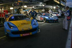 #123 Team Ukraine Ferrari 458 Italia: Ruslan Tsyplakov, Andrii Kruglik, Raffaele Gianmaria, Mateo Mallucelli