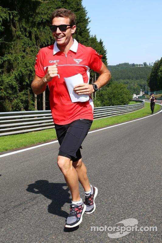 Jules Bianchi, Marussia F1 Team corre no circuito.